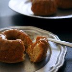 Sugary & Buttery - Bourbon Bundt Cakes with Brown Sugar Glaze