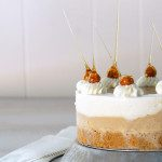 Sugary & Buttery - Hazelnut and Vanilla Sundae Cake with Salted Caramel