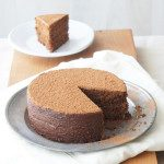 Chocolate Hazelnut Polenta Cake