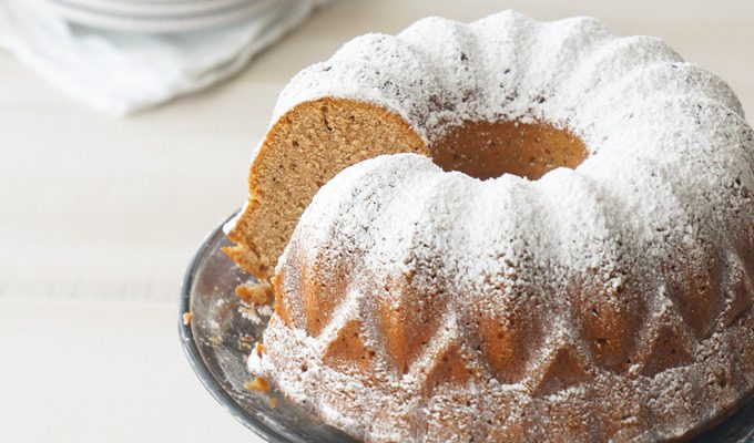 Honey Gingerbread Bundt Cake