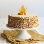 Sugary & Buttery - Hazelnut Cake with Marzipan and Apple Buttercream
