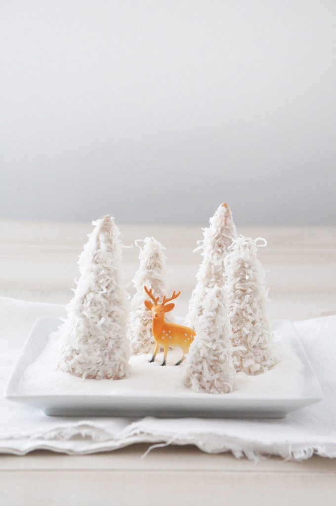 Sugary & Buttery - Chocolate Cheesecake Christmas Trees