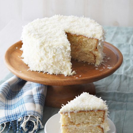Sugary & Buttery - Orange Coconut Cream Cake