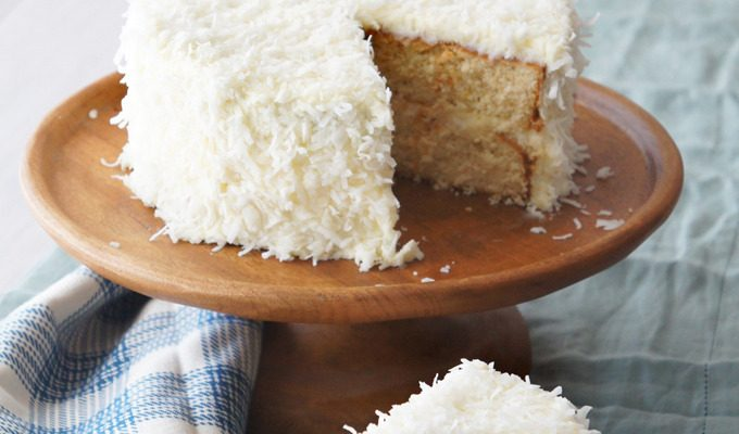 Orange Coconut Cream Cake