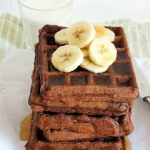 Whole Wheat Maple Chocolate Waffles