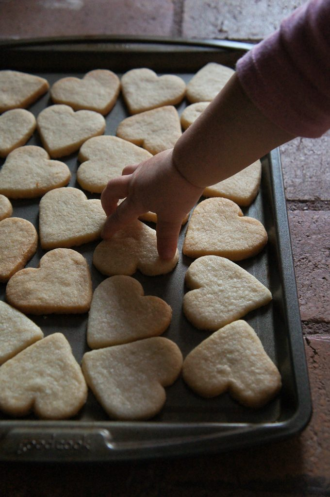 Sugary & Buttery - Valentines Sugar Cookies