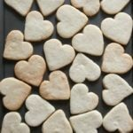 Valentine's Sugar Cookies with Almond Icing