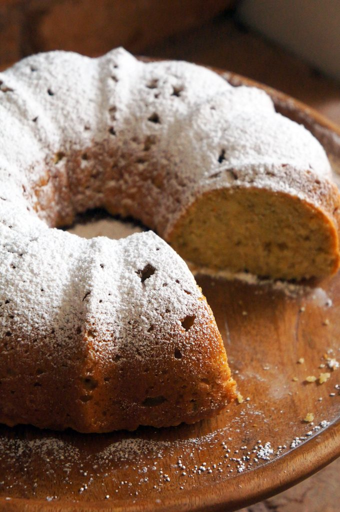 Sugary & Buttery - Ricotta Lemon Bundt Cake with Zucchini