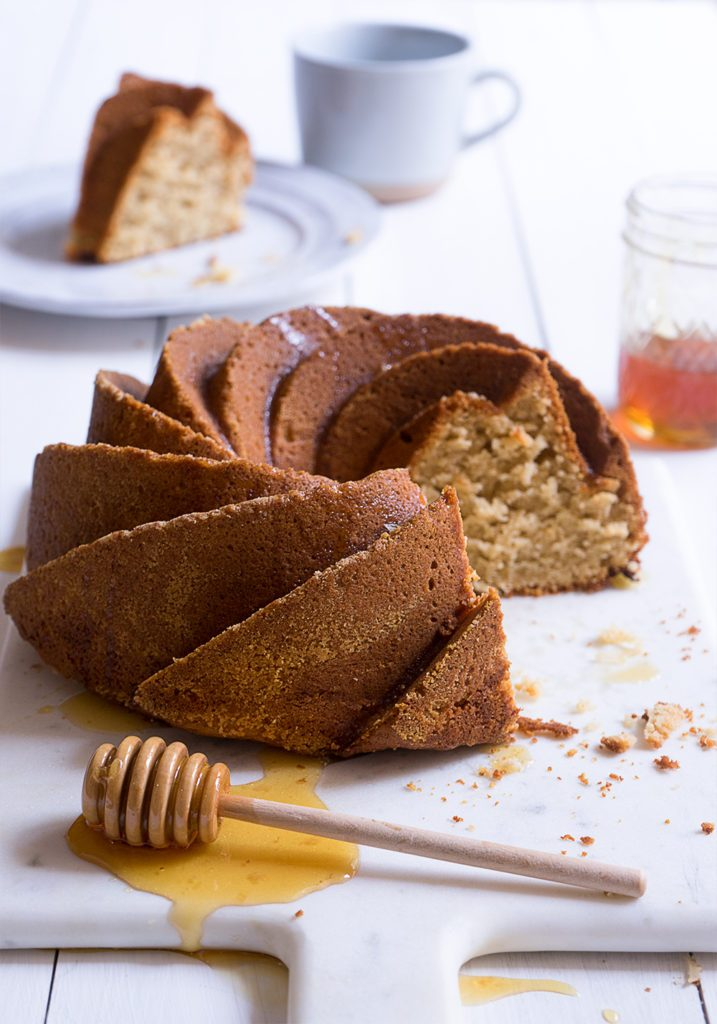 Sugary & Buttery - Honey Coconut Bundt Cake