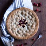 Cranberry Vanilla Pie