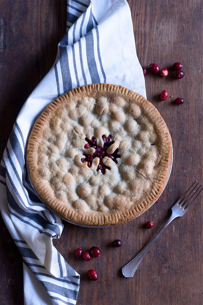 Sugary & Buttery - Cranberry Vanilla Pie