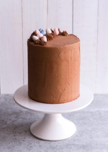 Sugary & Buttery - Chocolate Almond Layer Cake