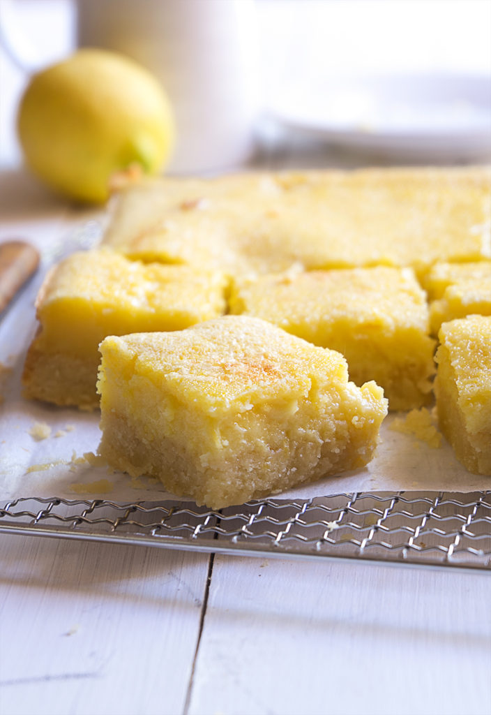 Sugary & Buttery - Classic Lemon Bars