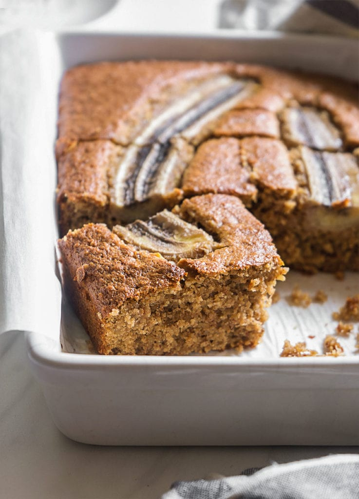 Sugary & Buttery - Banana Cake with Pecans & Walnuts