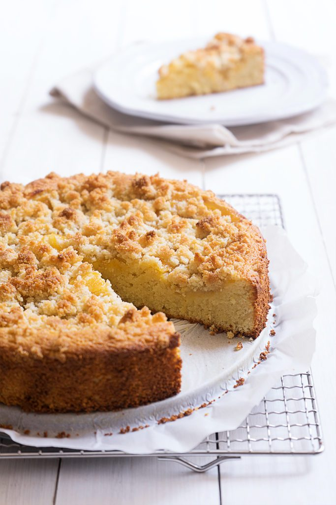 Sugary & Buttery - Lemon Curd & Almond Coffee Cake