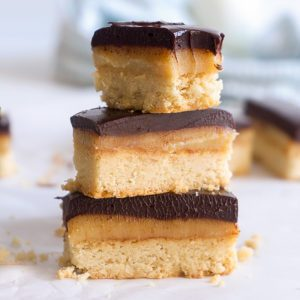 Holiday Millionaire's Shortbread - Sugary & Buttery