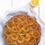 Meyer Lemon and Almond Upside Down Cake