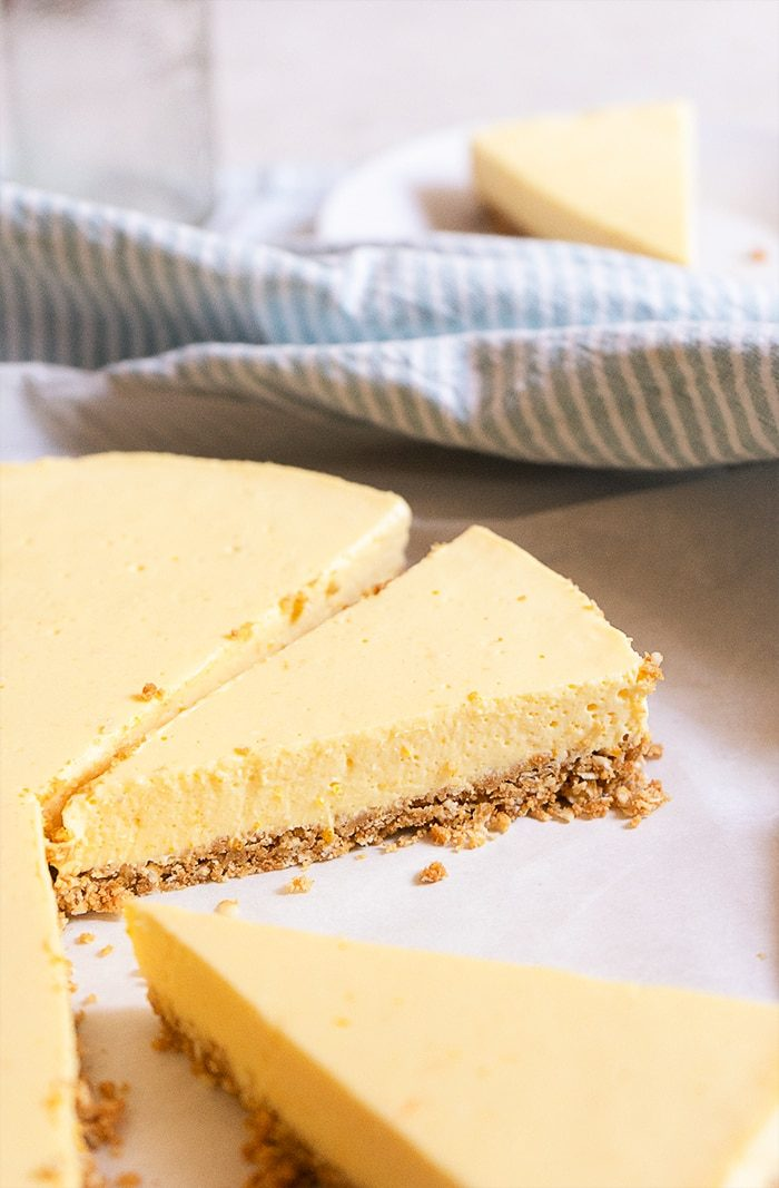 Sugary & Buttery - Orange and Honey Cheesecake with Vanilla Crust