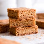 Brown Butter Blondies with Sea Salt