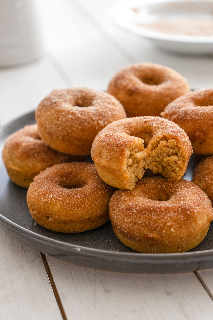 Baked Apple Cider Donuts - Sugary & Buttery