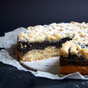 Sugary & Buttery - German Poppyseed Crumble Cake