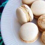 Mexican Spice Macarons with Dulce de Leche