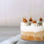 Sugary & Buttery - Hazelnut and Vanilla Sundae Cake with Salted Caramel