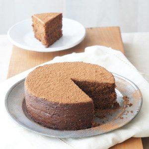 Sugary & Buttery - Chocolate Hazelnut Polenta Cake