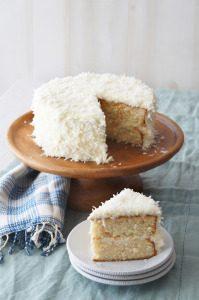 Sugary & Buttery - Orange Coconut Cream Cake