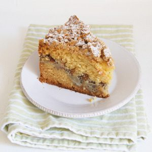 Sugary & Buttery - Pear and Poppy Seed Coffee Cake
