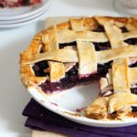 Blueberry Apple Pie with Rosemary
