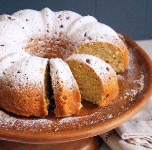 Sugary & Buttery - Ricotta Lemon Bundt Cake with Zucchini