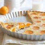 Apricot Tarte with Vanilla Custard