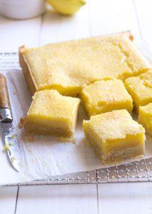 Sugary & Buttery - Classic Lemon Bars
