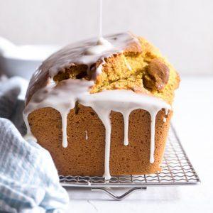 Golden Vanilla Pumpkin Bread - Sugary & Buttery