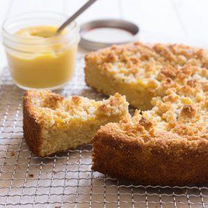 Sugary & Buttery - Lemon Curd & Almond Coffee Cake