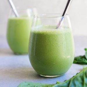 Sugary & Buttery - Green Tahini Power Smoothie
