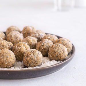 Sugary & Buttery - Lemon & Poppy Seed Energy Balls