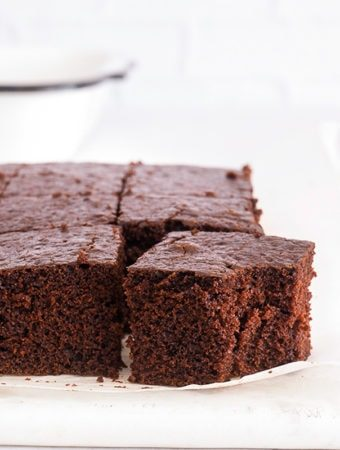 Sugary & Buttery - Spiced Muscovado Chocolate Sheet Cake